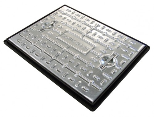 Clark Drain Manhole Cover Access Inspection 600 x 450mm - 10 Tonne PC6CG