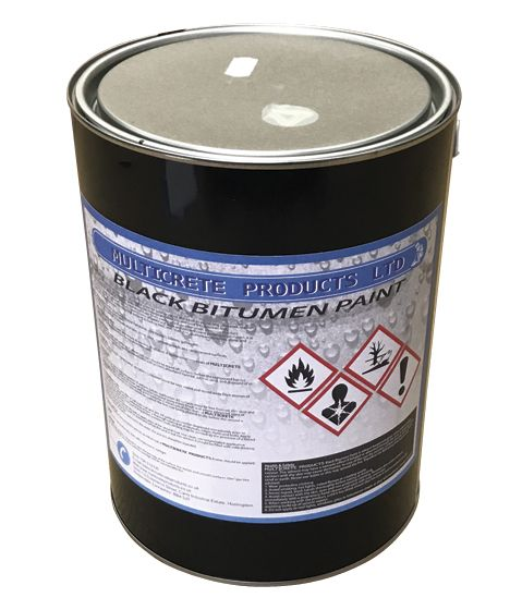 MULTICRETE BLACK BITUMEN PAINT 5L