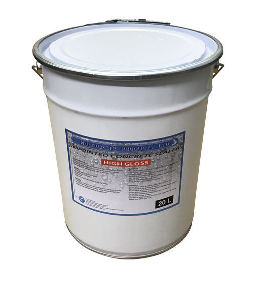 Pattern Imprinted Concrete Sealer High Gloss 20ltr