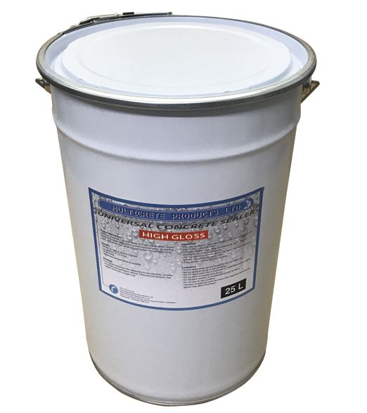 Universal Concrete Sealer - High Gloss (25L)