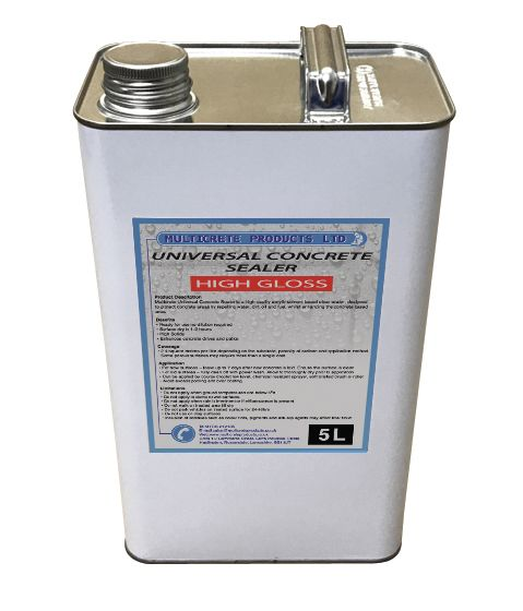 Universal Concrete Sealer - High Gloss (5L)