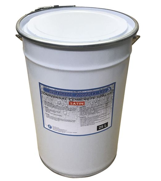 Universal Concrete Sealer - Satin (25L)