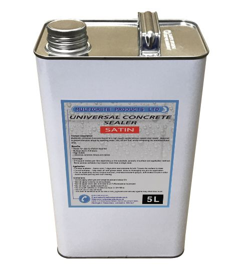 Universal Concrete Sealer - Satin (5L)