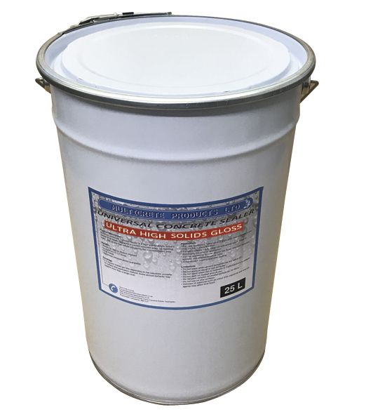 Universal Concrete Sealer - Ultra High Solid Gloss (25L)